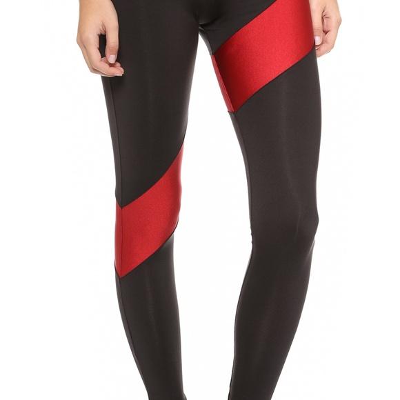 Size M Norma Kamali Black Yoga pants